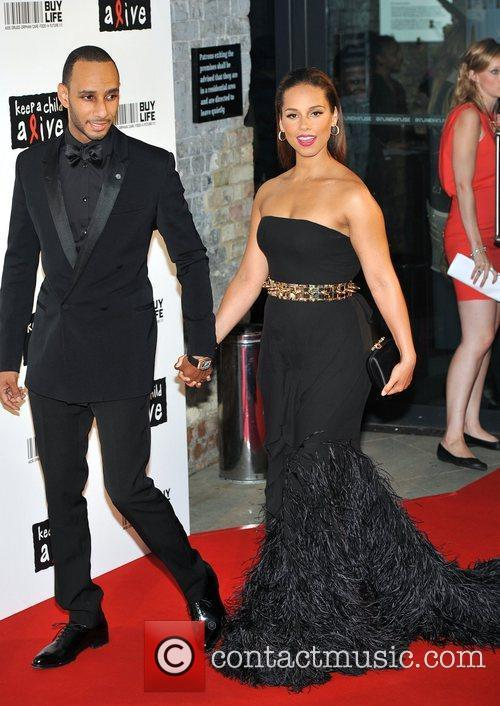 Swizz Beatz and Alicia Keys 1