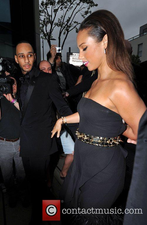 Swizz Beatz and Alicia Keys 5