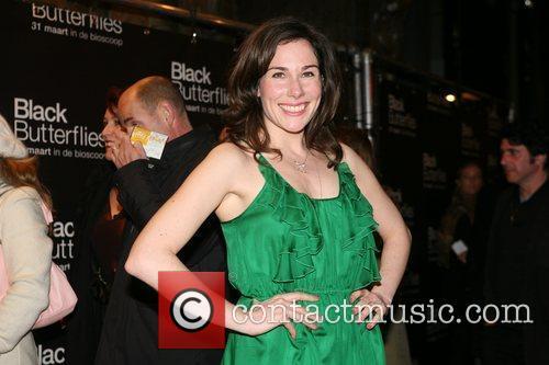 Halina Reijn Premiere of 'Black Butterflies' at the...