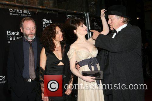 Liam Cunningham, Carice Van Houten, Paula van der Oest and Rutger Hauer 2