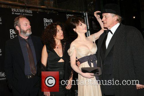Liam Cunningham, Carice Van Houten, Paula Van Der Oest and Rutger Hauer 1