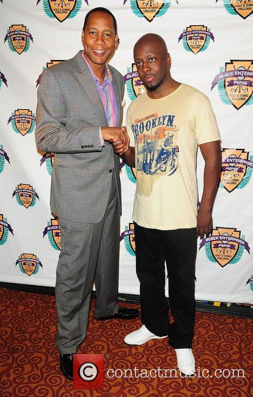 Mark Curry and Wyclef Jean 5