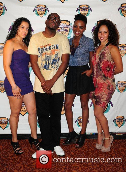 Wyclef Jean and Guests at the La Pepsi...