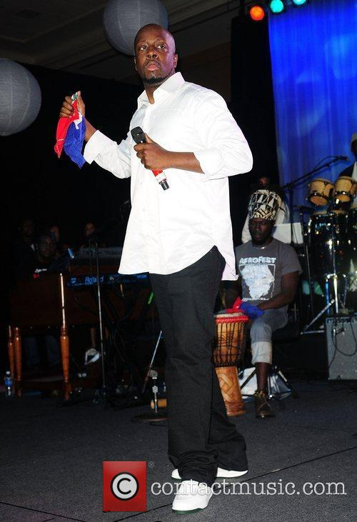 Wyclef Jean  performs at the La Pepsi...