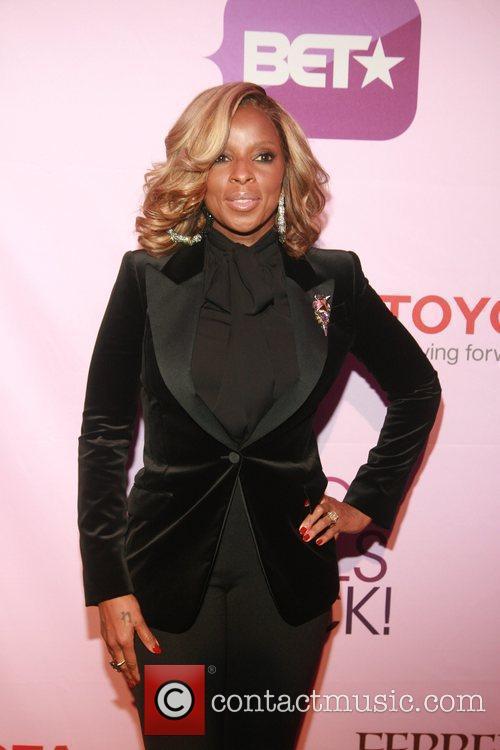 Mary J. Blige Black Girls Rock! 2011 at...