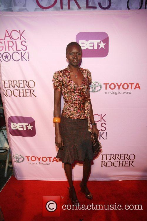 Alek Wek Black Girls Rock! 2011 at the...