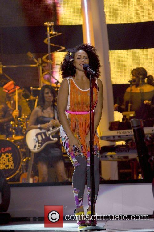 Elle Varner Black Girls Rock! 2011 at the...