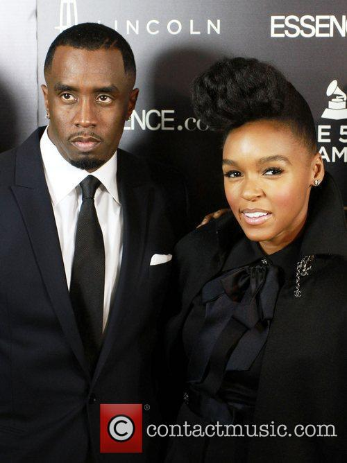 Sean Combs and Janelle Monae 8
