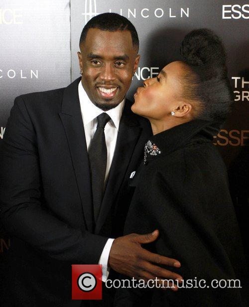 Sean Combs and Janelle Monae 7