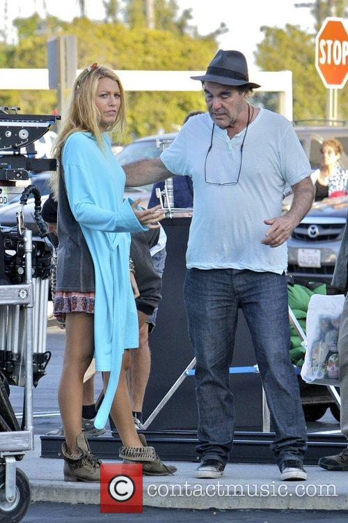 Blake Lively and Oliver Stone 8