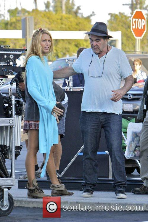 Blake Lively and Oliver Stone 5
