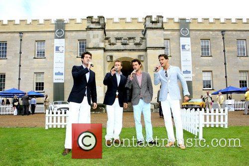 Brit Award Winner Classical Boy Band Blake perform...