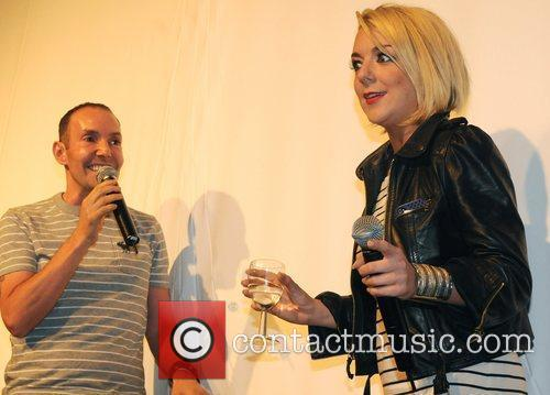 G-A-Y owner Jeremy Joseph and Sheridan Smith Blue...