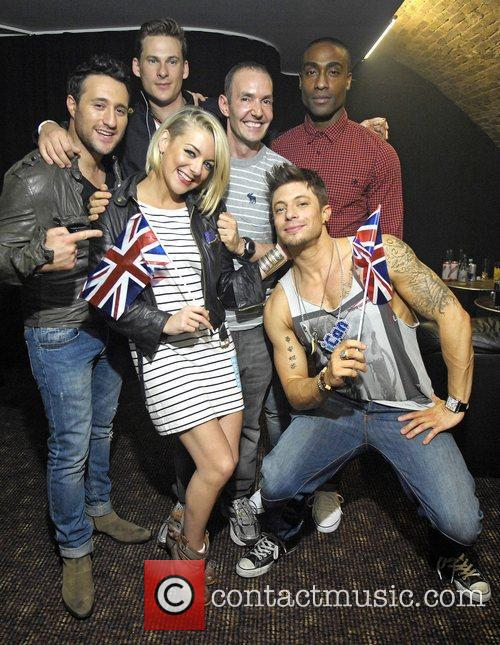 Antony Costa, Duncan James, Lee Ryan, Sheridan Smith and Simon Webbe 10