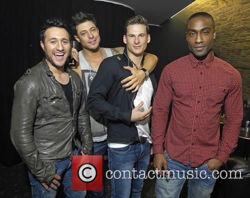Antony Costa, Duncan Jones, Lee Ryan and Simon Webbe 6
