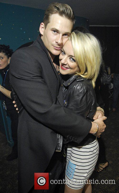 Lee Ryan and Sheridan Smith Blue perform live...