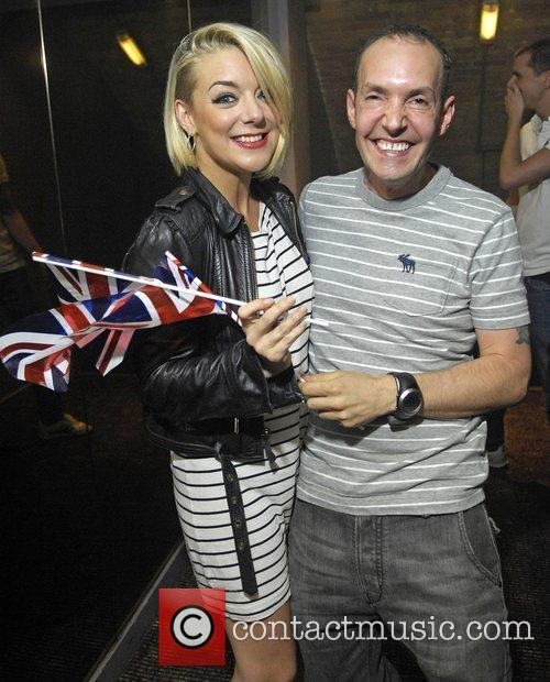 Sheridan Smith and G-A-Y owner Jeremy Joseph Blue...