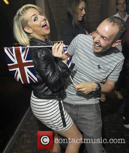 Sheridan Smith and G-A-Y owner Jeremy Jospeh Blue...