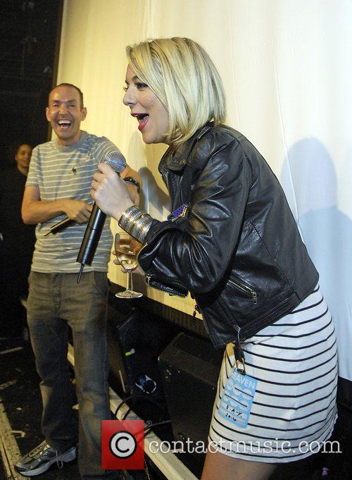 G-A-Y owner Jeremy Jospeh and Sheridan Smith Blue...