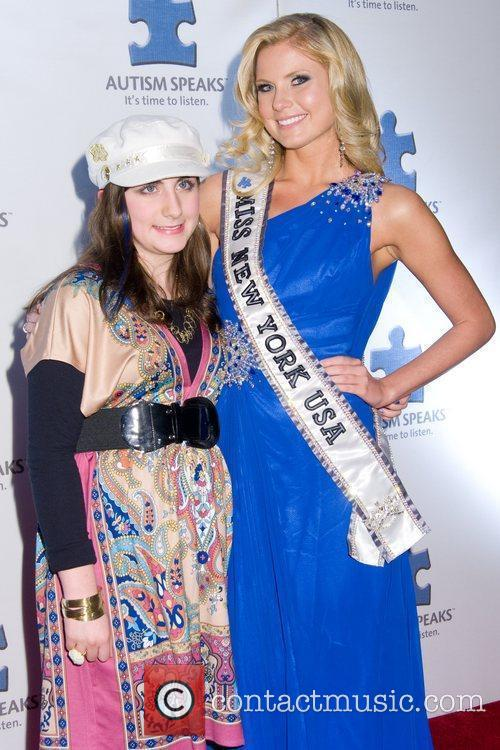 Talina and Amber Collins A Blue Affair charity...
