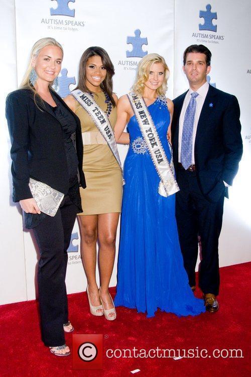 Vanessa Trump, Kamie Crawford, Amber Collins and Donald...