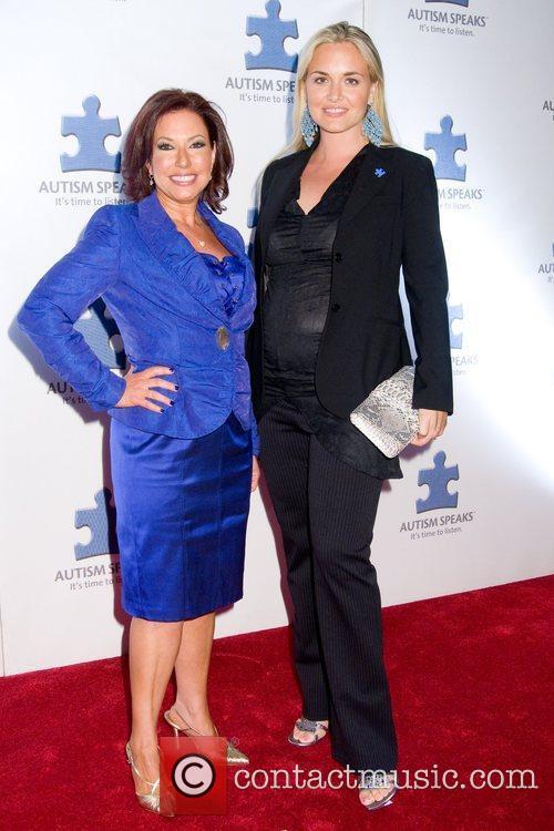 Vanessa Trump and Susane Schwartz A Blue Affair...