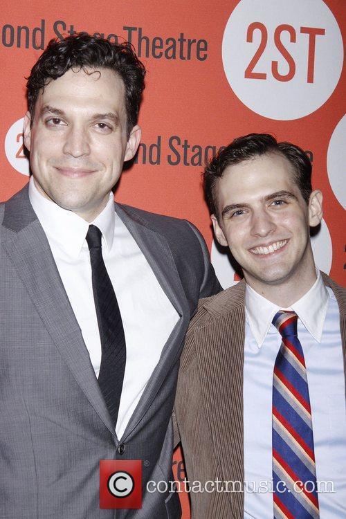 Aaron Serotsky and Joseph Medeiros  Opening night...
