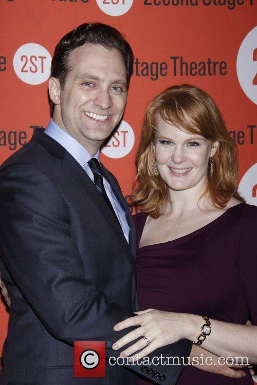 Graham Rowat and Kate Baldwin  Opening night...