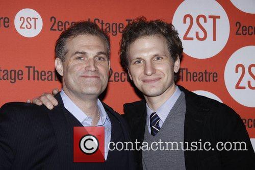 Marc Kudisch and Sebastian Arcelus  Opening night...