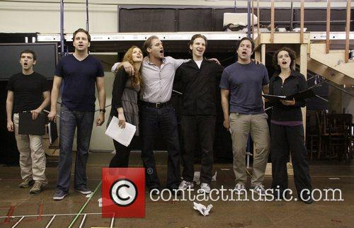 Cast Open press rehearsal for the upcoming musical...