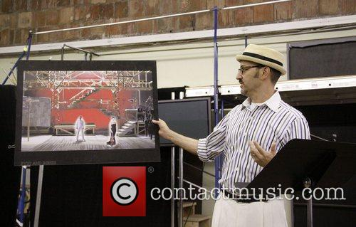 Open press rehearsal for the upcoming musical 'The...