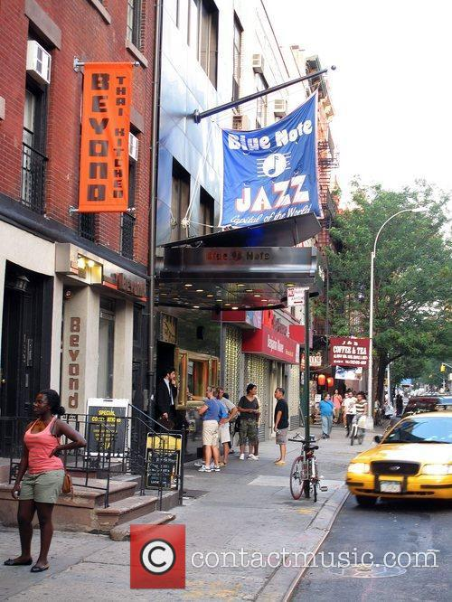 The Blue Note Jazz Club in New York...