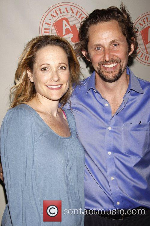 Kate Blumberg and Todd Weeks Opening night after...