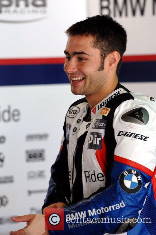 Liam Haslam BMW World Superbike Team Australia test...