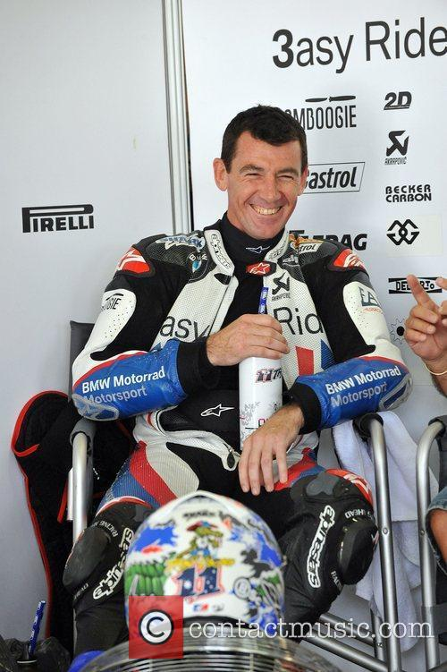 BMW World Superbike Team Australia test at Eastern...