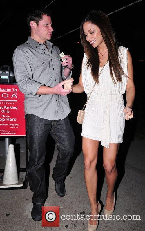Nick Lachey and Vanessa Minnillo 1