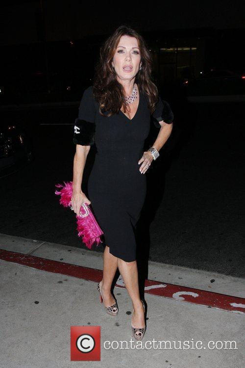 Lisa Vanderpump at Boa Steakhouse