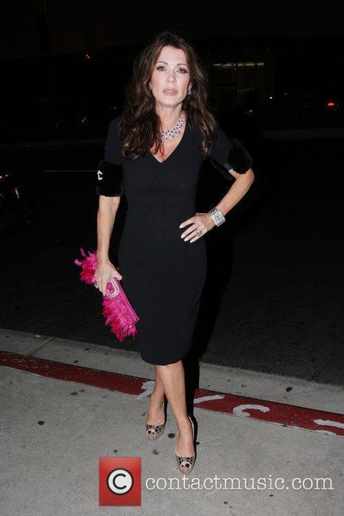 Lisa Vanderpump at Boa Steakhouse Los Angeles, California