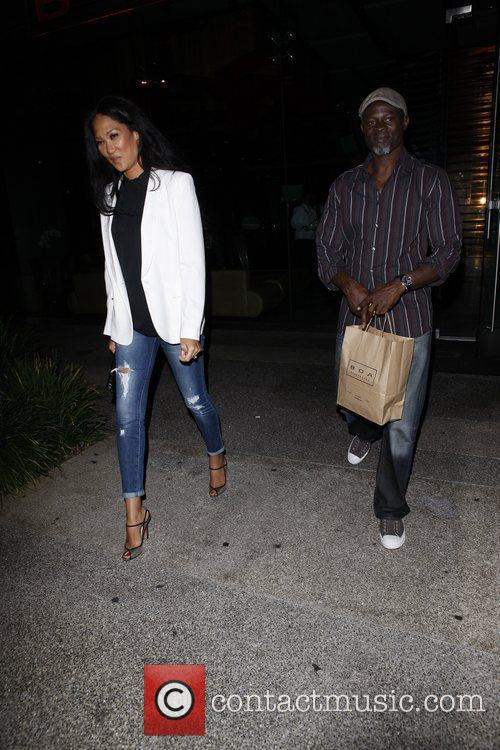 Kimora Lee Simmons and Djimon Hounsou 3