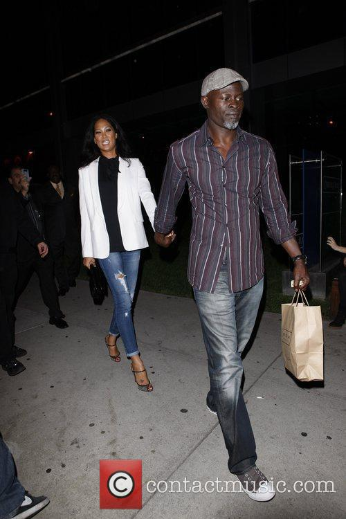 Kimora Lee Simmons and Djimon Hounsou 4