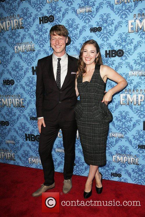 Dougie Payne and Kelly Macdonald