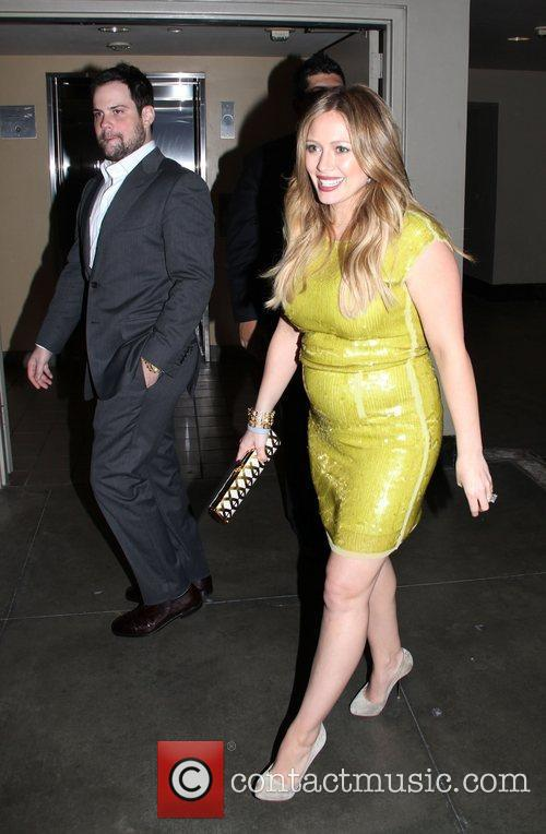 Mike Comrie, Hilary Duff and Grauman's Chinese Theatre 1