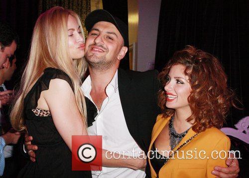 Christina Fulton, Gary Madatyan and Emma Bejanyan Grand...