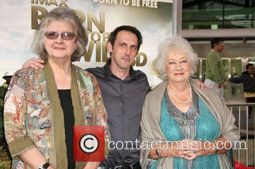 Dr. Birute Mary Galdikas, writer/producer Drew Fellman and...