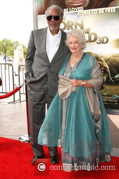 Morgan Freeman and Dame Daphne M. Sheldrick World...