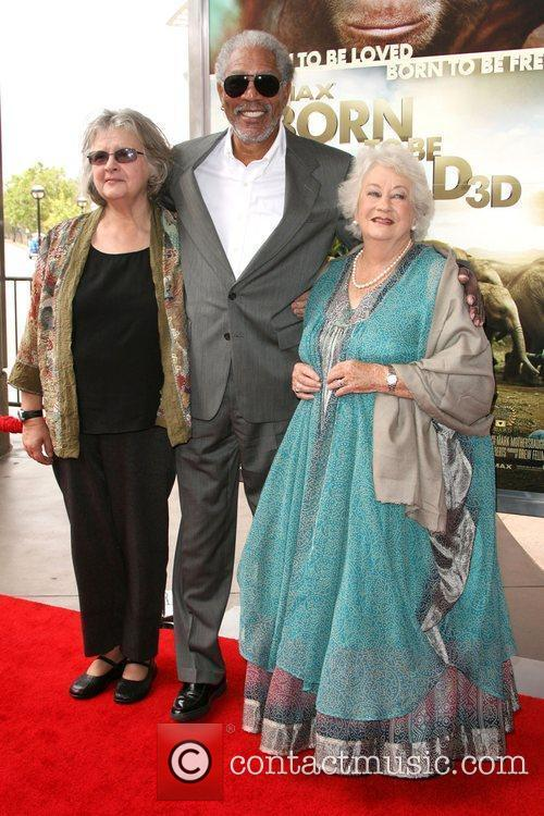 Dr. Birute Mary Galdikas, Morgan Freeman and Dame...