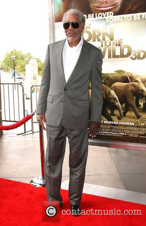 Morgan Freeman World premiere of Born To Be...