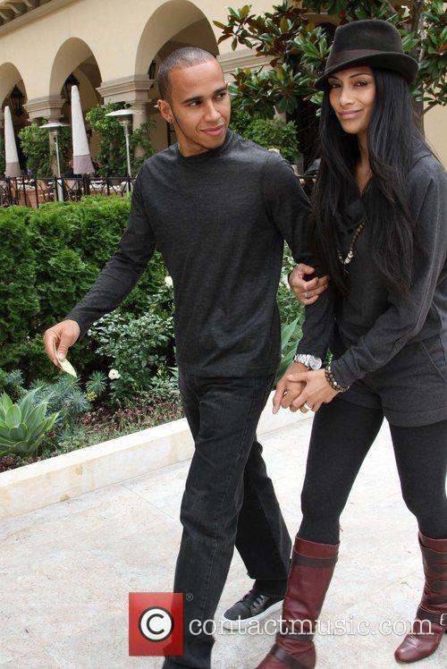 Nicole Scherzinger and Lewis Hamilton 26