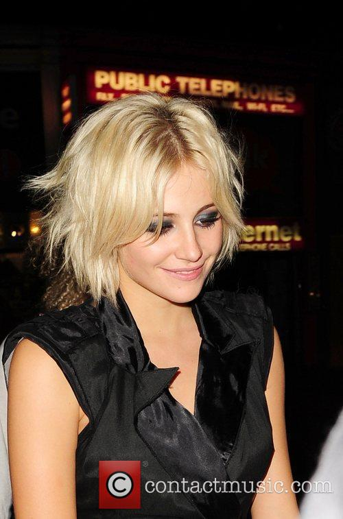 Pixie Lott leaves Boujis at 4am London, England