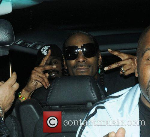 Snoop Dogg at the Box Club